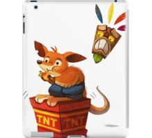 Crash Bandicoot Cartoon iPad Case/Skin