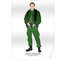 Stargate SG1 - Minimalist Jackson Poster