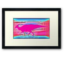 Hadrosaur/Duckbill dinosaur  Framed Print