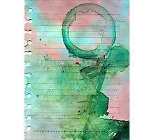 Smoothie stains Photographic Print