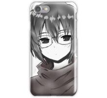 Glasses Manga iPhone Case/Skin