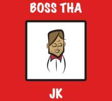 "Liverpool's Jurgen Klopp: ""BOSS THA"" Kids Tee"