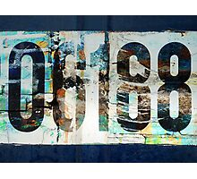 Here's my number Photographic Print