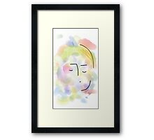 Girl - Soft Painting 011 Framed Print