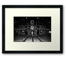 493rd Fighter Squadron GRIM REAPERS Framed Print