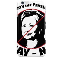 VOTE 2016 - Hillary iPhone Case/Skin