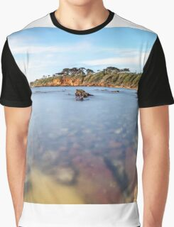 Royal Beach Cliff, Mornington Graphic T-Shirt