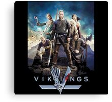 vikings the series Canvas Print