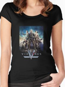 vikings the series Women's Fitted Scoop T-Shirt