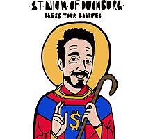 Saint Nick of Duckburg Photographic Print