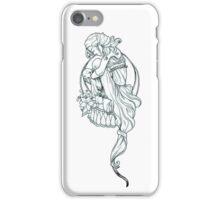 Mucha Girl iPhone Case/Skin