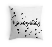 Save Gansey Throw Pillow
