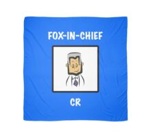 "Leicester City's Claudio Ranieri: ""FOX-IN-CHIEF"" Scarf"