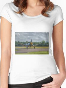 Hawker Sea Fury Women's Fitted Scoop T-Shirt