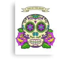 Day of the dead 2 Canvas Print