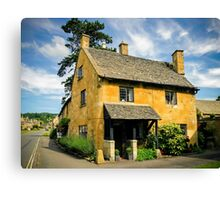 Corner Cottage Canvas Print