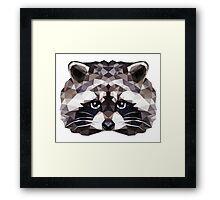 Geometric Ferret Framed Print