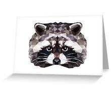 Geometric Ferret Greeting Card