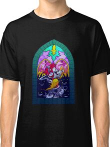 Crystal Story – Stained Glass Window  Classic T-Shirt