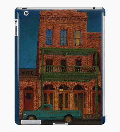 The Visitor iPad Case/Skin