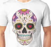 Skull floral Unisex T-Shirt
