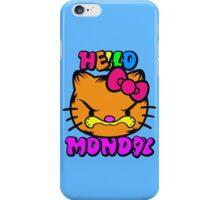 Hello Monday iPhone Case/Skin