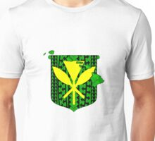 Hawaiian Tribal Coat Of Arms Unisex T-Shirt