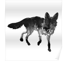 Ink Fox Poster