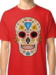 Skull floral 2 Classic T-Shirt
