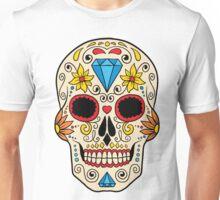 Skull floral 2 Unisex T-Shirt