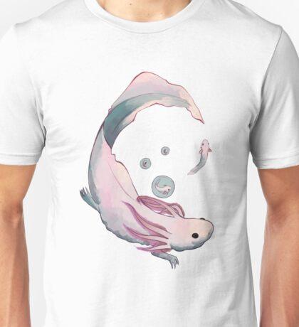 Axolotl growth Unisex T-Shirt