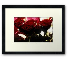 Dreaming of Roses Framed Print