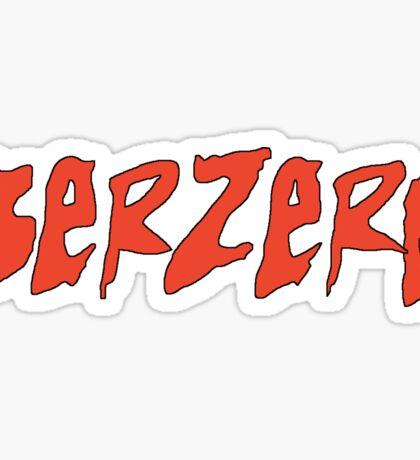 Berzerk - Eminem Sticker