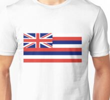 Hawaii State Flag Unisex T-Shirt