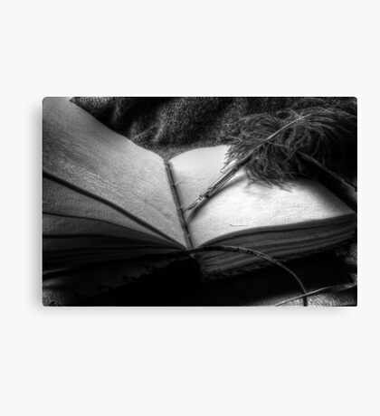 Quill and Pen Canvas Print