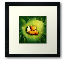 sleepy-head /Agat/ Framed Print