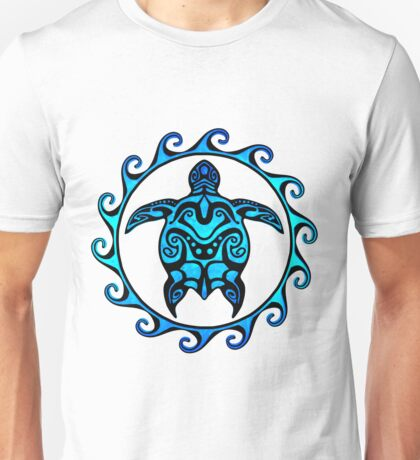 Tribal Turtle Unisex T-Shirt