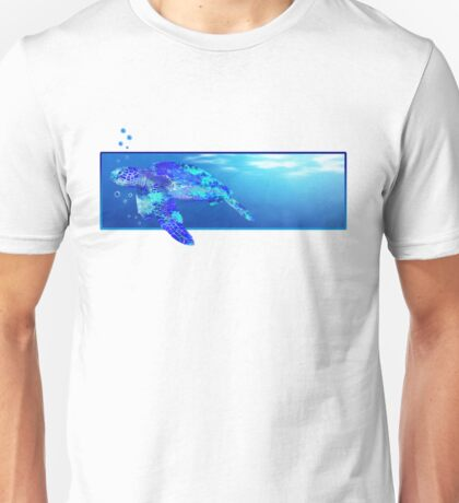 Swimming Sea Turtle Unisex T-Shirt