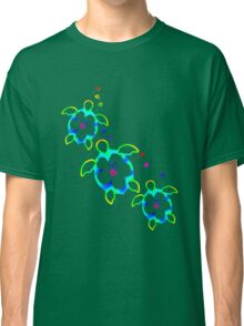 Tie Dyed Honu Turtles Classic T-Shirt