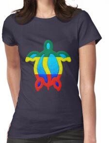 Rasta Honu Womens Fitted T-Shirt