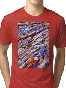 Rocky abstract Tri-blend T-Shirt