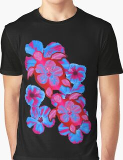 Tropical Honu And Hibiscus Graphic T-Shirt