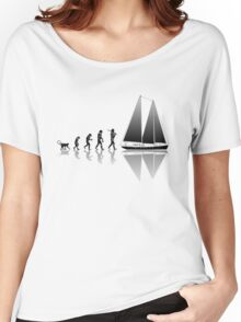 Sailing Evolution Women's Relaxed Fit T-Shirt