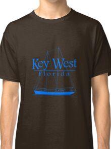 Blue Key West Sailing Classic T-Shirt