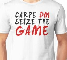 Carpe DM, Seize The Game - Dungeons & Dragons Unisex T-Shirt