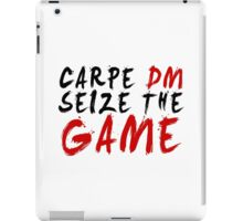 Carpe DM, Seize The Game - Dungeons & Dragons iPad Case/Skin