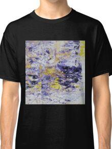 Path to the Light - Original Wall Modern Abstract Art Painting Original mixed media Classic T-Shirt