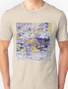 Path to the Light - Original Wall Modern Abstract Art Painting Original mixed media Unisex T-Shirt