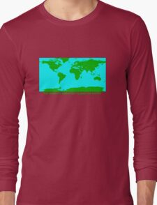 THE WORLD'S GREATEST PLANET ON EARTH Long Sleeve T-Shirt