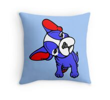 French Frenchie Bull Dog  Throw Pillow